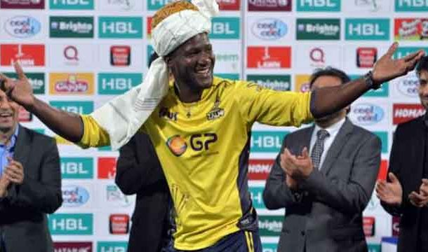 Darren Sammy Becomes 1st Foreign Player Arrived in Pakistan for PSL