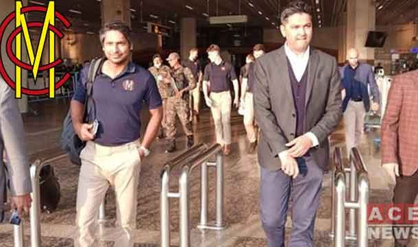 MCC's Team Under the Captancy of Kumar Sangakkara Arrived in Pakistan