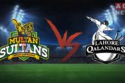 PSL: Multan Sultan Beat Lahore Qalanadar in Their First Match