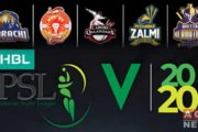 Pakistan Super League Season 5, 2020 Team Positions