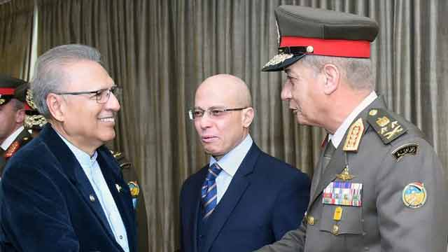 Pakistan, Egypt have Great Potential of Cooperation in Defence Production: President