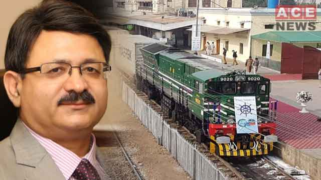 Pakistan Railways Inaugurated Freight Train for Afghanistan