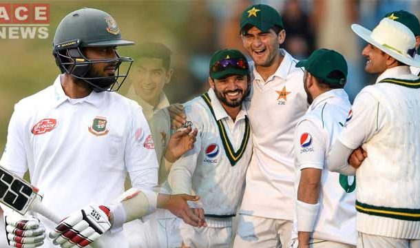 Pakistan Bowled Bangladesh out for 233 on Day 1