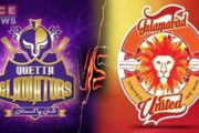 Defending Champion Quetta Win the 1st Match of PSL 5, 2020