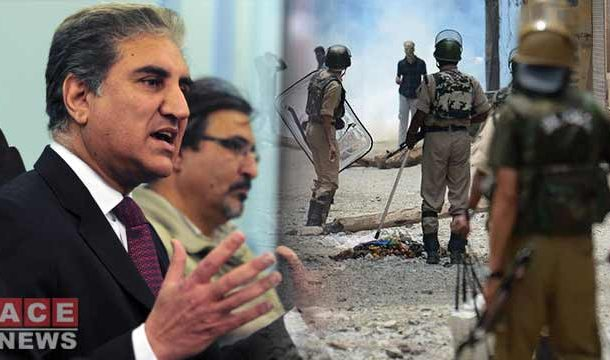 Pakistan will Keep Raising Strong Voice for Kashmiris on all International Platform: FM Qureshi