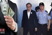 Former South Korean President Jailed for 17 Years for Embezzlement