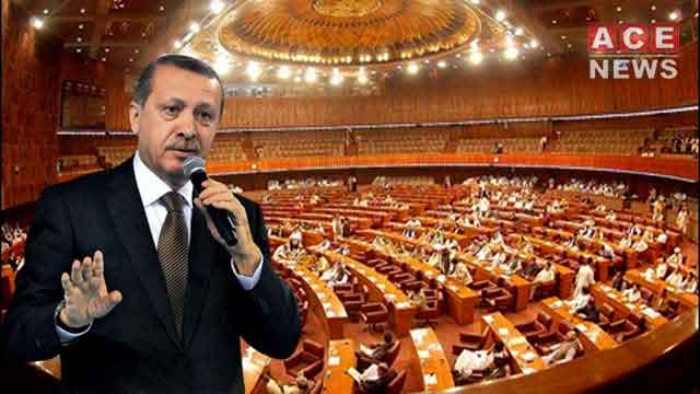 Turkish President to Address Joint Session of Pakistan's Parliament today