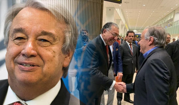 UN Secretary General Arrived in Pakistan