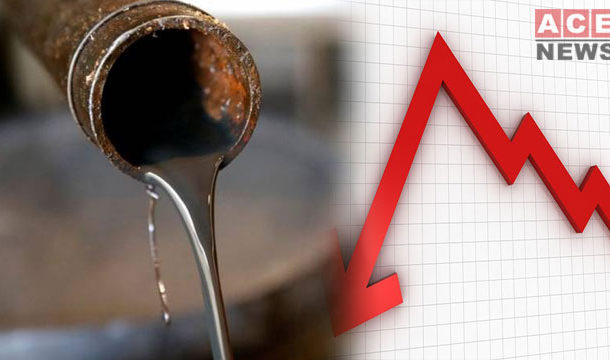 Crude Oil Prices Fall 5% in US