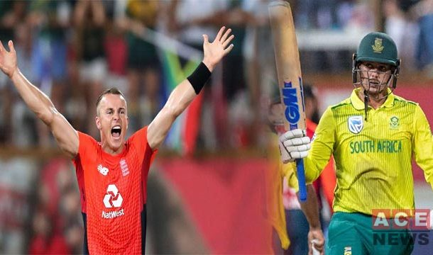 England Won a Thriller by 2 Runs Levels Series with South Africa