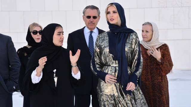 Trump's Daughter Ivanka Trump Wore Islamic Clothing During a Visit to the Mosque