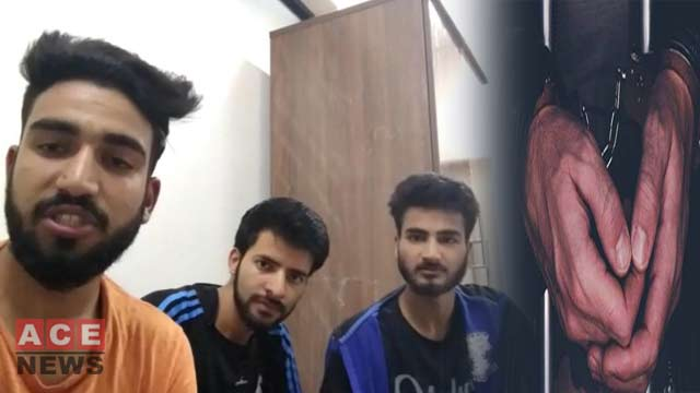 Three Kashmiri Students in India got Arrested on Slogans in Support of Pakistan