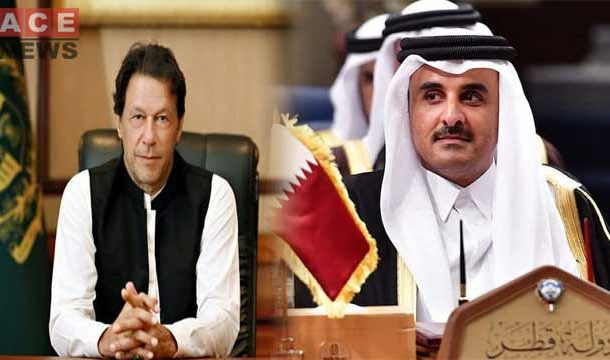 PM Imran Khan Flies for Qatar