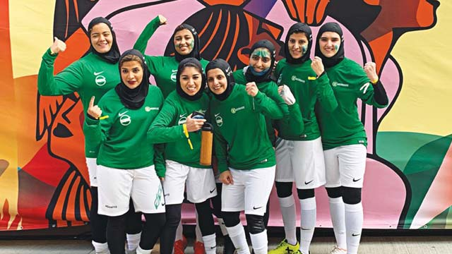 Image result for First Women's Football League Announced by Saudi Arabia