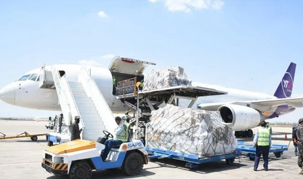 One More Aircraft Carrying Medical Supplies from China Reached Karachi