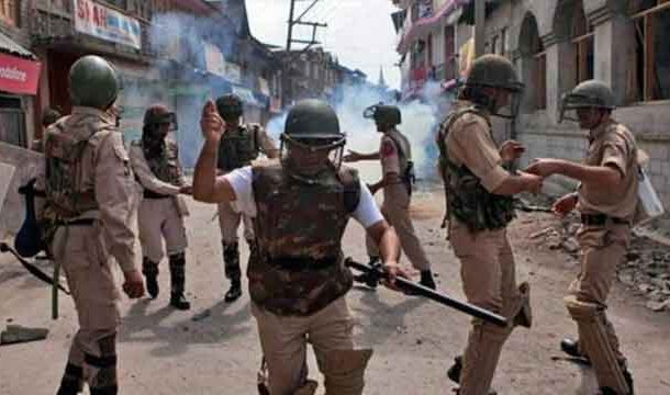 Grenade Attack on Indian Security Force in Srinagar