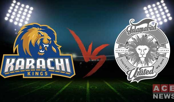 Karachi Kings Defeated Islamabad United by 5 Wickets