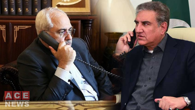 Qureshi Telephones Iran's FM, Discuss Situation of COVID-19