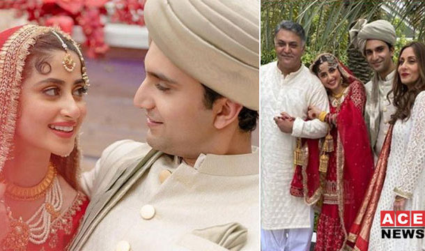 Sajal Aly and Ahad Raza Mirs Wedding in A Very Unique Way