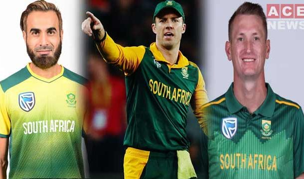 AB de Villiers, Imran Tahir and Chriss Morriss will Make Comeback in National Side