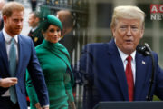 US Won't Pay for Meghan and Harry's Security: Trump