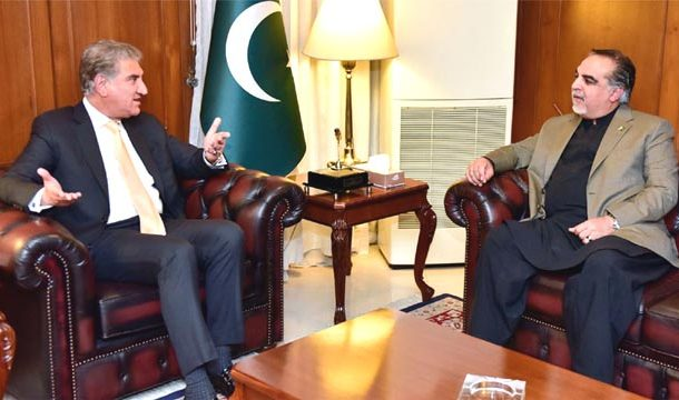 Peaceful Afghanistan to Help in Having Effective Partnership with other Countries: Shah Mahmood Qureshi