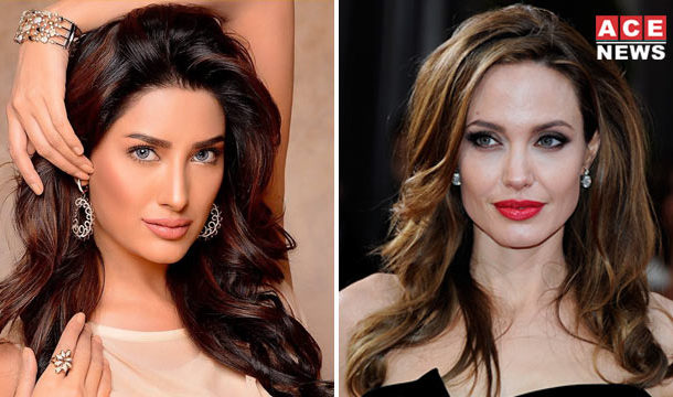 Angelina Jolie will Interview Mehwish Hayat in a BBC Show