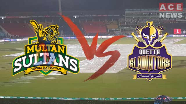 Quetta Gladiators Registered 1st Win after Beating Multan Sultans by 22 Runs