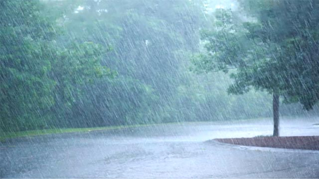 Met Office Predicts Rainfall with wind and Thunderstorm from Friday