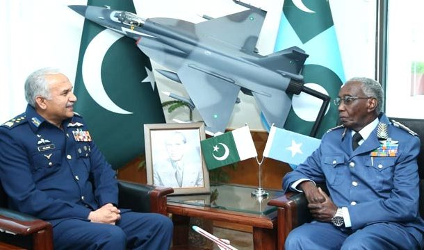 PAF Chief Meets with Somali Air Force Commander