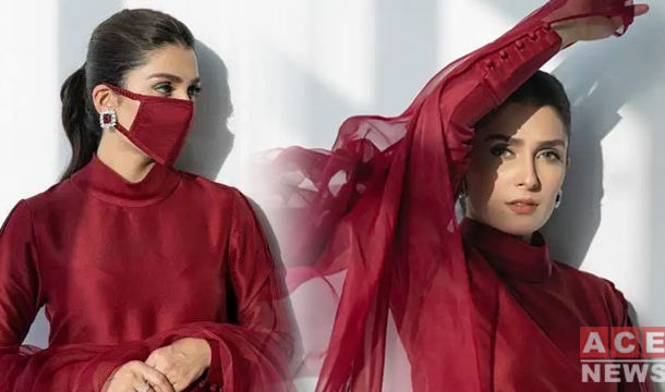 Ayeza Khan Urges People to Make their Own Cloth Mask
