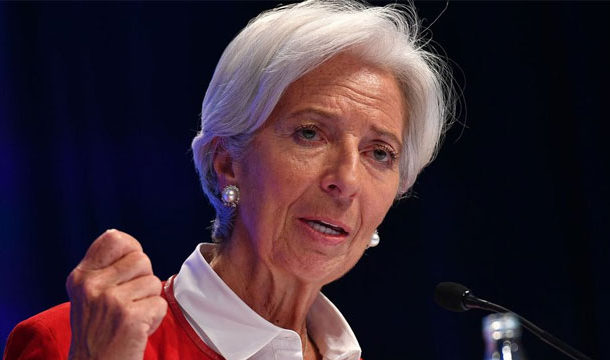 GDP May Fall Upto 15% as Covid-19 Crimps Growth: Christine Lagarde