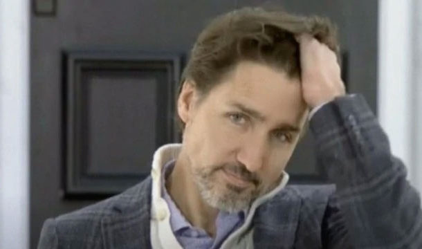 Justin Trudeau's Hair Flip Slow-Mo Shows How Badly He Needs a Hair Cut