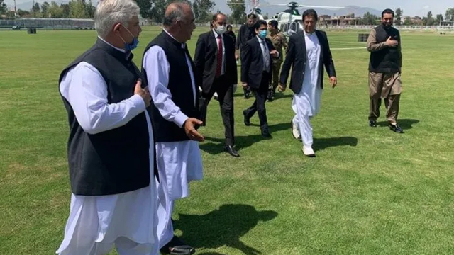 Prime Minister Arrives in Peshawar on a Day-Long Visit