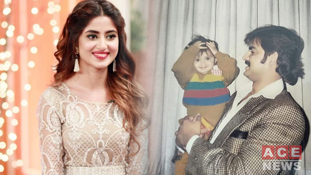 Sajal Ali Post Throwback Photo of her Childhood