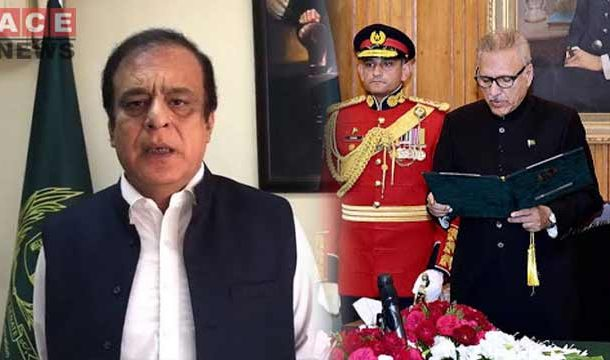 Shibli Faraz Took Oath as Minister for Information and Broadcasting