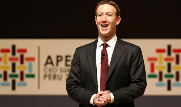 Mark Zuckerberg, CEO of Facebook, Proposes Changes to the Internet's Rules