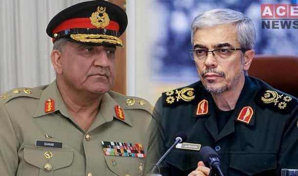 COAS Called Iranian Counterpart Discuss Border Security Matters