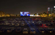 Drive-In Cinema in Madrid, Attracts Movie Lovers Amid Lockdown