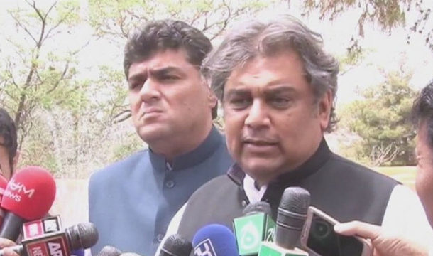 Federal Minister Visits PIA Plane Crash Victim's Residence, Offers Fateha