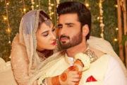 Beautiful Hina Altaf Surprises Husband Agha Ali With Her Lavish Birthday Party