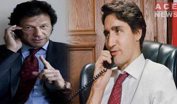 PM Imran Khan Called Justin Trudeau Talked about COVID-19 Crises