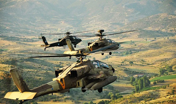 Israeli Helicopters Fired Several Rockets in Southern Syria