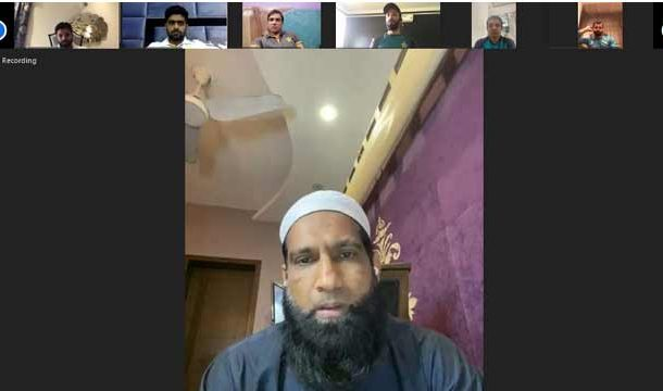 Mohammad Yousaf Gives Useful Tips in Online Session with National Cricketers