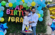 Momal Sheikh Celebrates Birthday of Her Son at Home