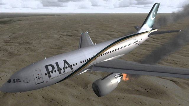 PIA Plane Crash with Over 100 Passengers Near Karachi Airport