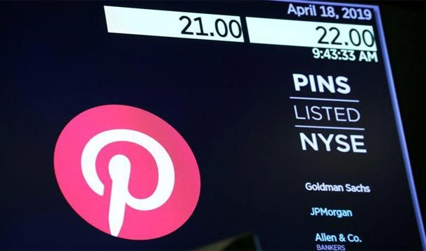 Pinterest Flags Slowing ad Spend as Quarterly Loss Widens,shares fall