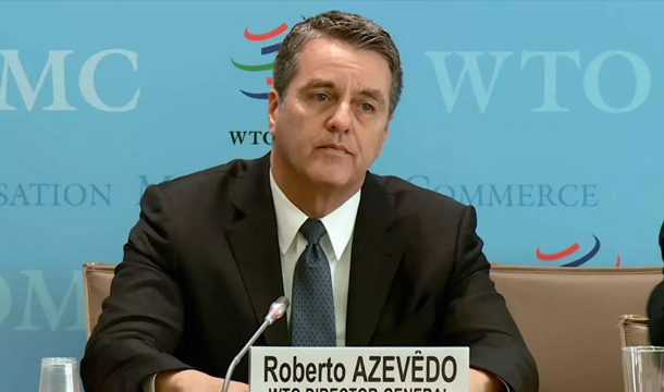 WTO Chief to Retire Early as Global Economic Crisis Rages