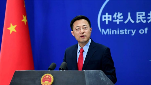 Pak-China Friendship Remains Firm as Rock in Past 69 Years: Zhao Lijian