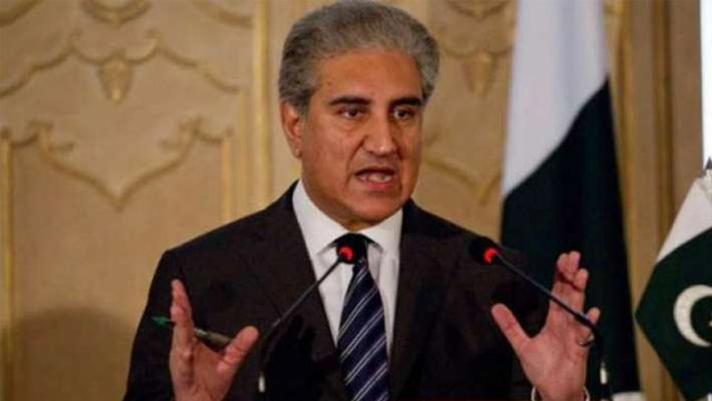 India Running Special cell to Sabotage CPEC: FM Qureshi
